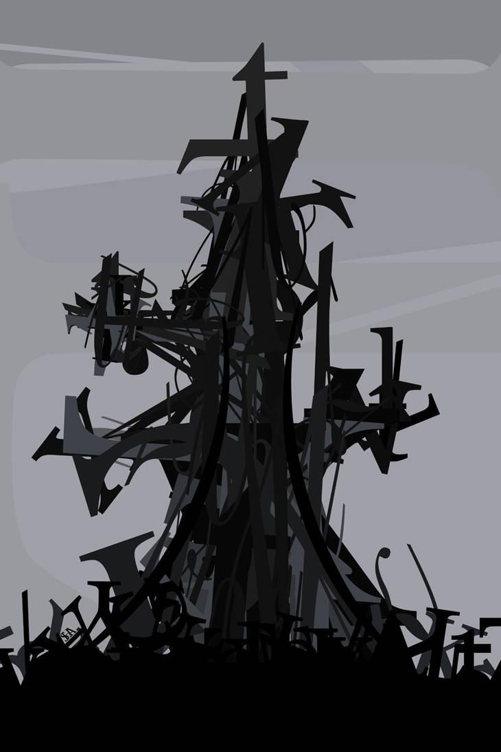 Typography 32 - Dark Crystal. by princepoo