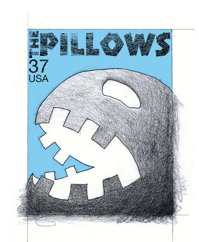 Stamps - 04 The Pillows. by princepoo