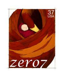 Stamps - 11 Zero 7 by princepoo
