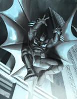 batman speedpaint by zecarlos