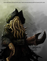 Davy Jones -01 by zecarlos