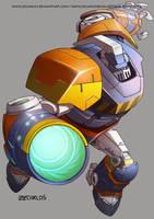Megaman Tribute fan-granademan by zecarlos