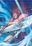 capcom fighting tribute-leo x ryu