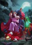 Street Fighter  X Darkstalkers  - Dan X Demitri