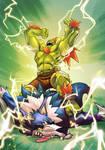 Street Fighter X Darkstalkers   Blanka X Talbain