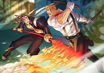 Capcom vs Snk by zecarlos