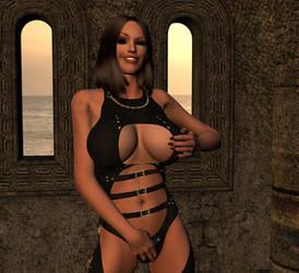 Temple Mistress by thunderrr