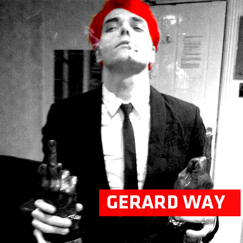 Gerard Way Red hair by nachox on DeviantArt
