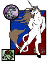 Spliffy Unicorn by Somberwolf