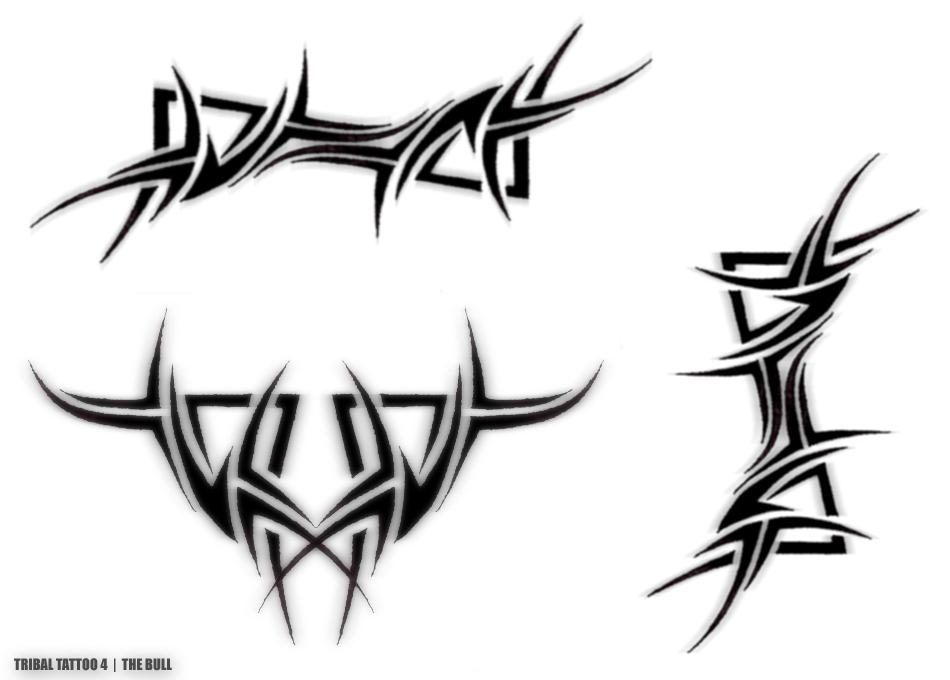 tribal tattoo 4 the bull by amir malka on deviantart. Black Bedroom Furniture Sets. Home Design Ideas