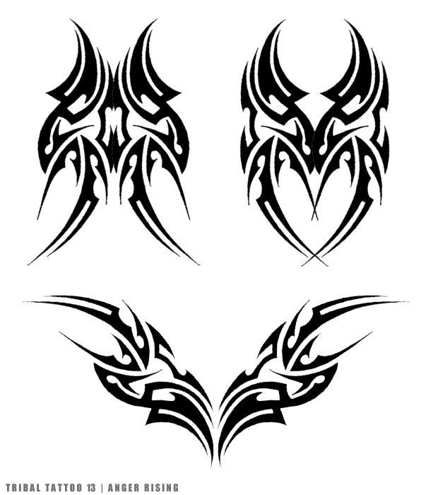 Tribal Death Tattoo: AngerRising By Amir-malka On DeviantArt