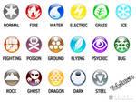 Pokemon Type Symbols