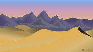 Hoenn Desert - Dusk