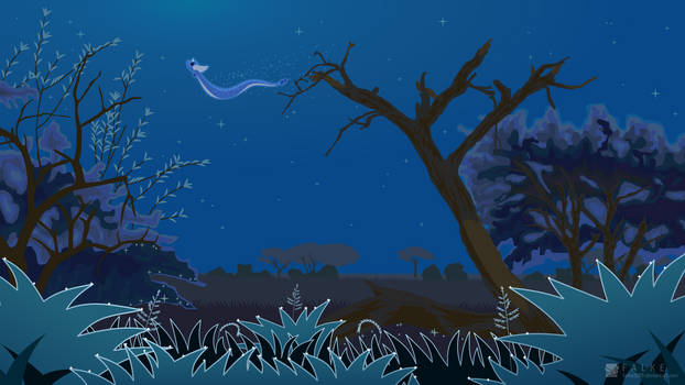 Kanto Safari Zone - Night