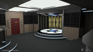U.S.S. Enterprise-E - Transporter Room (Render 1)