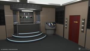 U.S.S. Enterprise-E - Transporter Room (Render 2)