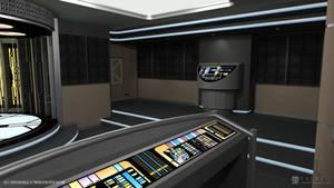 U.S.S. Enterprise-E - Transporter Room (Render 3)