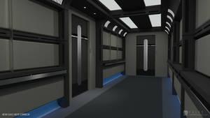Nova Class Refit - Corridor (Render 1)