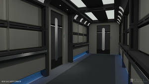 Nova Class Refit - Corridor (Render 1) by falke2009