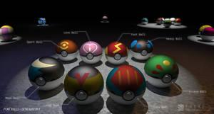 Poke Balls (Gen II)