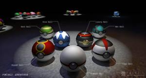 Poke Balls (Gen III)