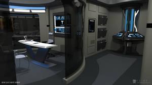 Nova Class Refit - Sickbay (Render 3) by falke2009