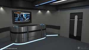 Nova Class Refit - Transporter Room (Render 1) by falke2009