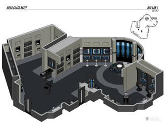 Nova Class Refit - Science Lab by falke2009