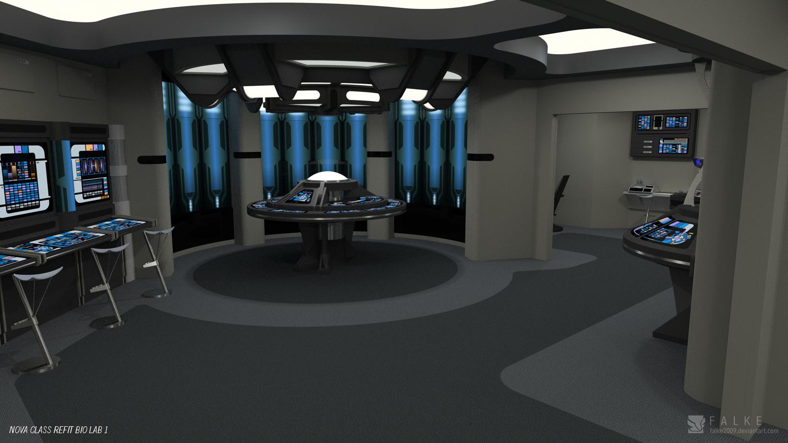 Nova Class Refit - Science Lab (Render 1) by falke2009