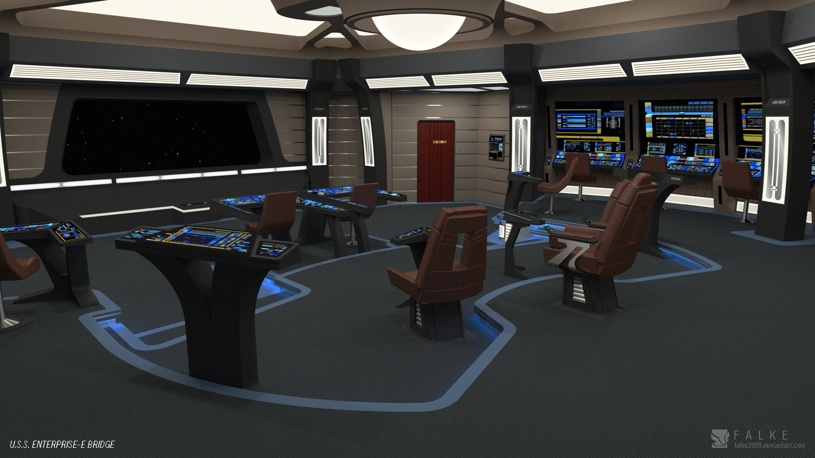 Enterprise E Conference Room