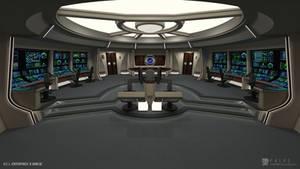 U.S.S. Enterprise-B Refit - Bridge (Render 1)
