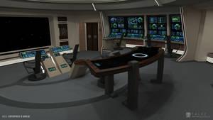 U.S.S. Enterprise-B Refit - Bridge (Render 2)