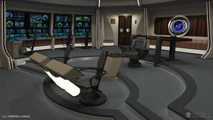 U.S.S. Enterprise-B Refit - Bridge (Render 3)
