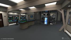U.S.S. Enterprise-B Refit - Engineering (Render 1)