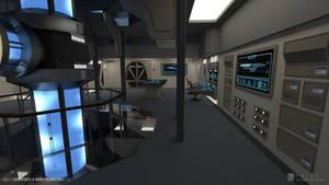 U.S.S. Enterprise-B Refit - Engineering (Render 2)