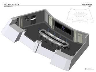 U.S.S. Nova - Briefing Room by falke2009