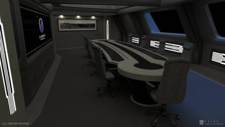 U.S.S. Nova - Briefing Room (Render 2) by falke2009