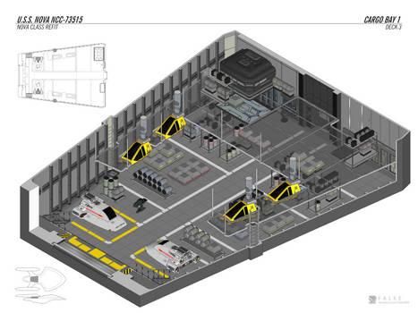 U.S.S. Nova - Cargo Bay 1