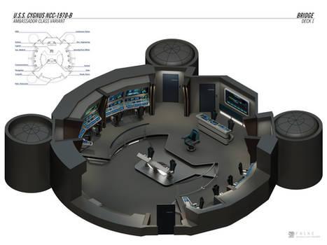 U.S.S. Cygnus-B - Bridge