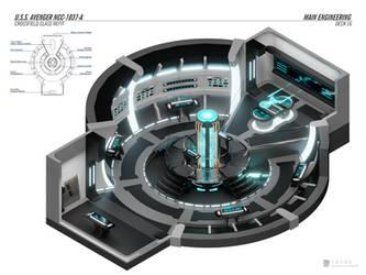 USS Avenger-A - Engineering