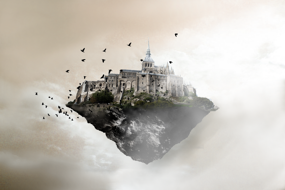 Floating Castle by Xin...