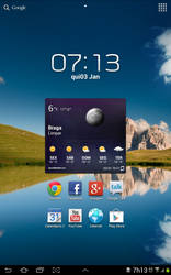 Samsung Galaxy Tab 10.1 - ICS beauty by palmeiraant