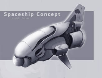 spaceship design for panthera by St-Pete