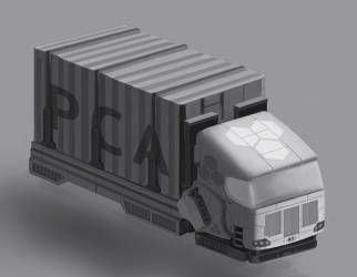Transport lorry concept 3/4 by St-Pete