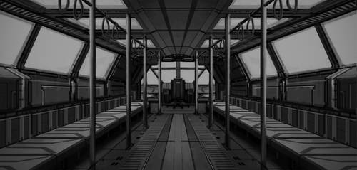 Train interior by St-Pete