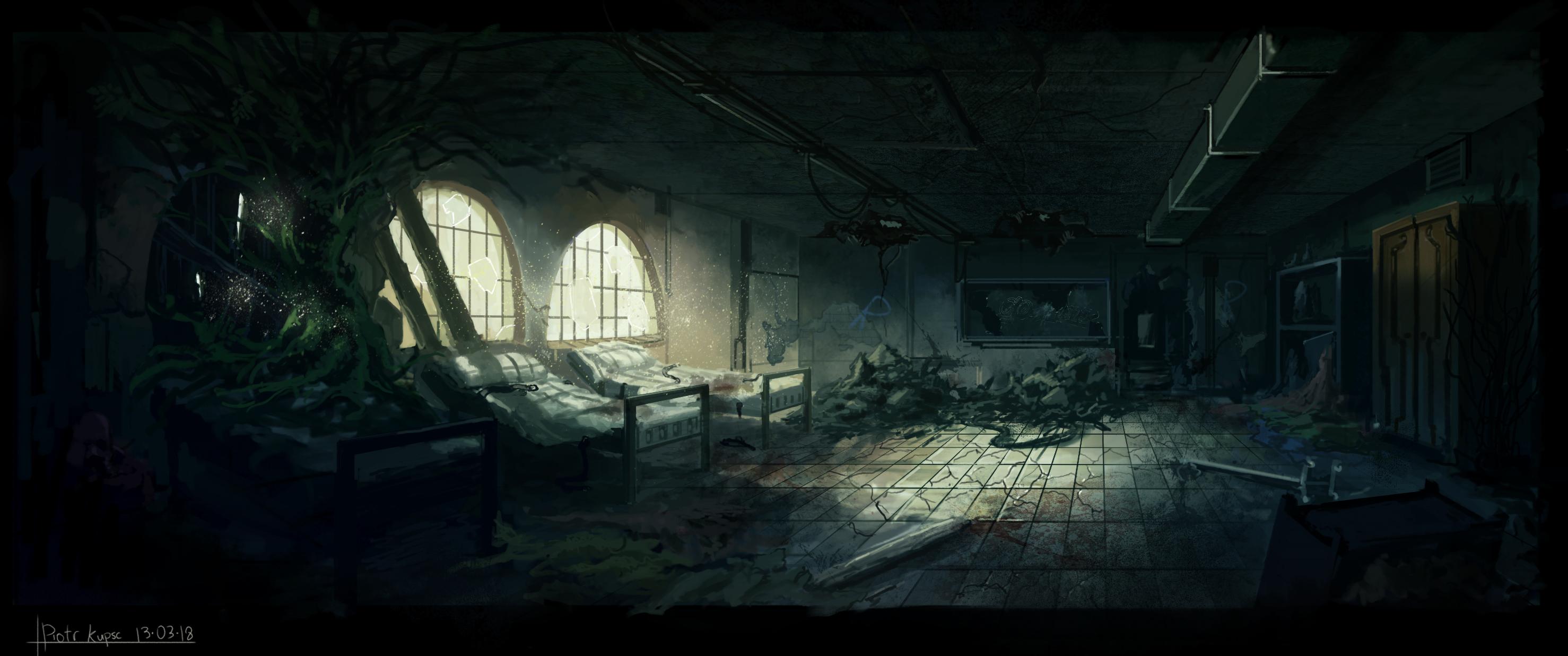Abandoned Asylum by St-Pete on DeviantArt