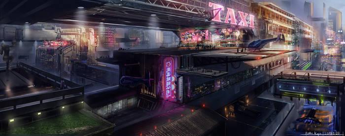Sci-fi Taxi