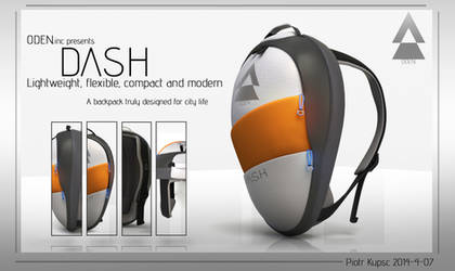 ODEN: DASH backpack by St-Pete