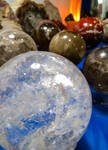 Crystal Planets by Viole-n-tDreams
