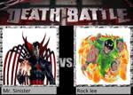Death Battle Mr. Sinister vs Rock lee